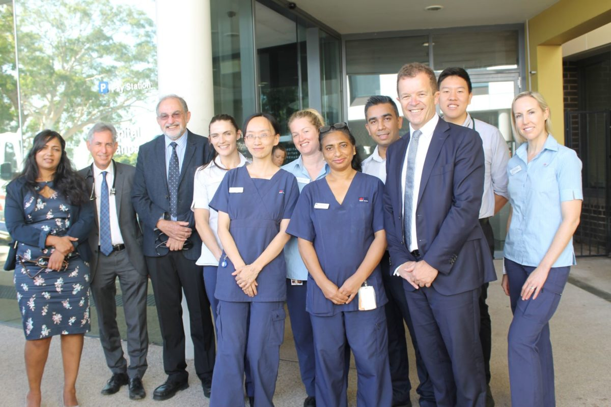 EIGHT NEW OPERATING THEATRES FOR SUTHERLAND HOSPITAL